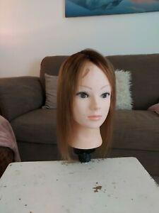100% human hair topper by Perfect Fringe
