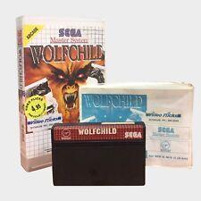 Wolfchild for Sega Master System PAL GAME