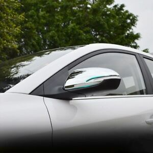 For Hyundai Accent 2018 2019 2020 Chrome Side Rearview Mirror Molding Cover Trim