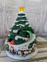 Eluceo ? vintage Christmas tree AS IS decor light sound