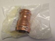 """(5) Apollo NO LEAD 2"""" X 1-1/2"""" Copper Reducer Propress Elkhart 10075130"""