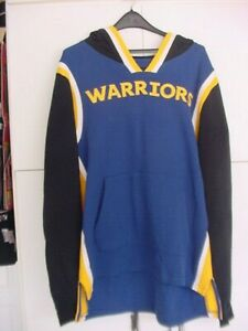 '47 BRAND*NBA*GOLDEN STATE WARRIORS*ECORE LAYUP HOODED PULLOVER*MEN'S LARGE*NWT