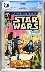 D669 Star Wars #43 Marvel CGC 9.6 NM+ (1981) 1st Comic App. Lando Calrissian