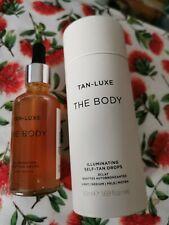 Tan Luxe The Face Illuminating Self-Tan Oil, Light/Medium