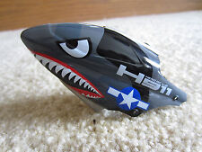 New WWII Warbird Helicopter Canopy WLtoys Hero RC H911 V911 iRocket Head Cover