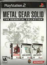 Video Game - Sony PlayStation 2 - METAL GEAR SOLID ESSENTIAL COLLECTION
