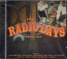 Radio Days CD (Vol 2) Nat King Cole/Billie Holiday/Tommy Dorsey/Charlie Parker