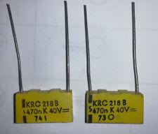 condensateur 0.47uf 40V lot de 2
