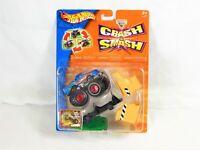 2003 Hot Wheels Monster Jam Crash & Smash Set Blue Hot Wheels Monster Truck- New