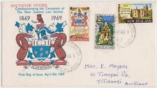 Used Cover New Zealand Stamps