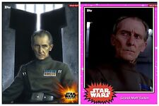 Topps Star Wars Card Trader - Essentials - Grand Moff Tarkin & Pink Base