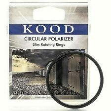 KOOD 72mm CIRCULAR POLARISING POLARISER FILTER CPL Pro Slim Frame (UK Stock)