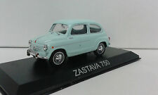 YUGO ZASTAVA 750 FICA (FIAT SEAT 600) LEGENDARY BALKAN CARS DEAGOSTINI IXO 1/43