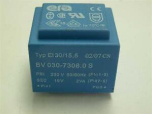 Print Trafo Transformator 230V 50/60Hz 18V 2VA BV030-7308.0 S 1x