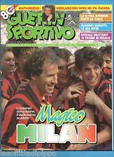 GUERIN SPORTIVO-1992 n.20- MAGICO MILAN 12° SCUDETTO - VIALLI - NO FILM