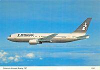 Britannia airways Boeing 767 passengers 273 Airplane Postcard