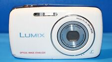 Panasonic LUMIX DMC-S1 12.1MP Digital Camera - White - Faulty - 1669