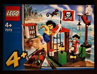 Lego Junior 7073 Pirate Dock Rare Discontinued Vintage NEW and Sealed