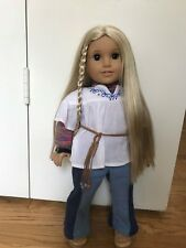 American Girl Doll Julie Albright with extra outfit