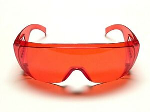 Laser Safety Goggles ~ 190nm-540nm ~ Fits Over Glasses Protection ~ Safety First