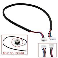 100cm 4-Draht-Kabel für Schrittmotor NEMA 17 Welle für 5mm CNC MakerBot