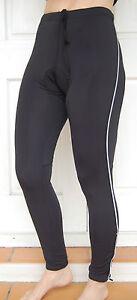 Jaggad Long Cycling Zip Knick Pants bike Mens Womens Black S M L  XL XXL #88