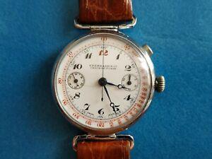 EBERHARD vintage First Wrist Chronograph Mono-push   40 mm