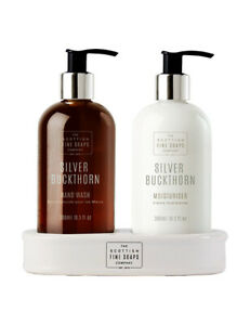 The Scottish Fine Soaps Company Silver Buckthorn Hand Care Gift Set 2 x 300ml