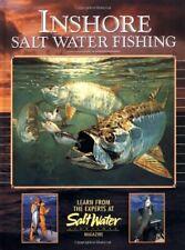 Inshore Salt Water Fishing Hardcover Book Bluefish Black Drum Salmon + NEW