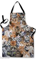 I gatti tutto design Grembiule Barbecue Cucina Cucina DIPINTO GRANDE IDEA REGALO