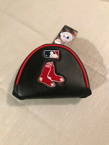 MLB Boston Red Sox Embriodered Mallet Style Putter Golf Club Headcover NEW