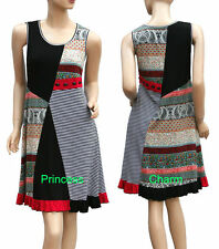 Unbranded Regular Hand-wash Only Striped Dresses for Women