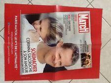 Rare Affiche Collector Grd Format Paris Match MICHAEL SCHUMARER FERRARI 2014