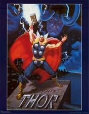 The Mighty Thor 1989 Marvel Comics Poster 23x28