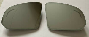 Volvo XC90 RH,LH Mirrors Glass Set with Heating & Dimming & Blind Zone Spot from