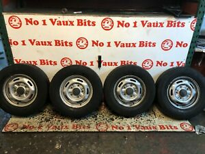 """FORD TRANSIT 5 STUD 16"""" WHEELS AND TYRES 215/75/16 4-5MM TREAD #603"""