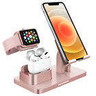 3 in 1 Charging Dock Station Holder Stand for Airpods Pro Apple Watch iPhone 12
