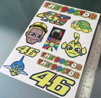 """TP Rossi """"The Doctor"""" Aufkleber - große Decal Sticker kit (A4 Size) /1083"""