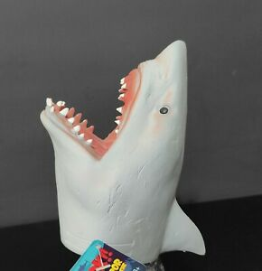 Shark Hand Puppet soft rubber by Schylling 🦈 great for imagination play