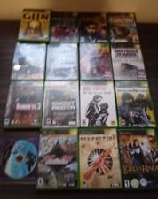 LOT OF 17 Original Xbox Games. LOTR Halo Far Cry Clancy Street Payne Riddick