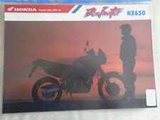 Brochures Paper NX Honda Motorcycle Manuals & Literature