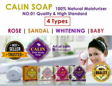 Calin Natural Moisturizer Soap Face Body Clear Beauty Antibacterial Baby Health