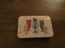 Sarah Miller small decorative Tin, Owls