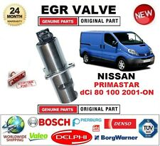 FOR NISSAN PRIMASTAR dCi 80 100 2001-ON Electric EGR VALVE 5PIN with GASKETS