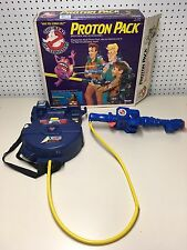 Vintage The Real Ghostbusters Proton Pack With Original Box No Trap or PKE