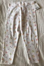 BNWT George Baby Girls White Patterned Leggings. Age 1 1/2- 2 Years