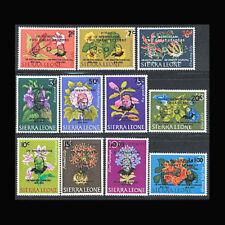 Sierra Leone, Sc #300-05, C37-41, Cpl. set, MNH, 1965, Flora, Plants, 11AHAIc