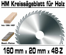 Hartmetall Kreissägeblatt 160 x ...