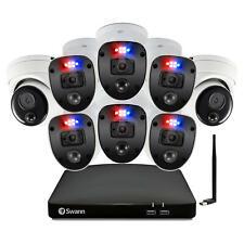 """Swann Enforcerâ""""¢ 8 Ch 1080p Dvr Cctv, 8-Camera Wired Smart Security Surveillance"""