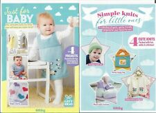 TWO BABY KNITTING PATTERN BOOKLETS   8 ADORABLE DESIGNS